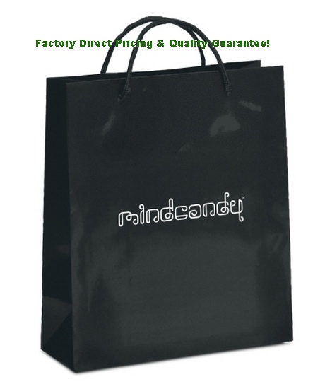 Competitive Factory Direct Gloss Shopping Bags