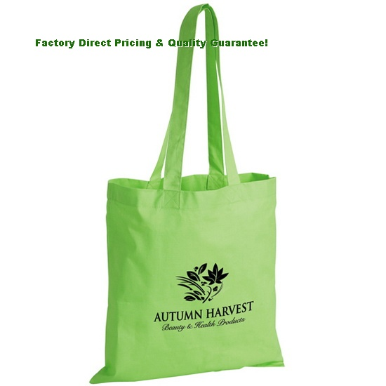 China Custom Economy Cotton Tote Bags