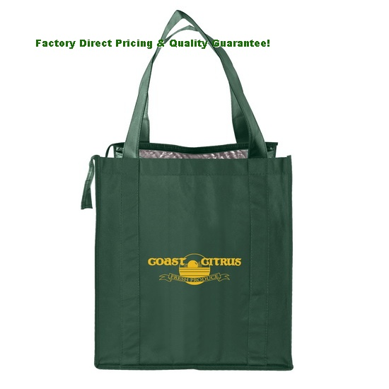 Factory Direct Thermal Grocery Tote Bag