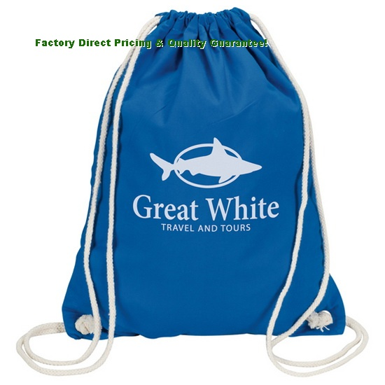 Factory Direct Cotton Drawstring Backpack