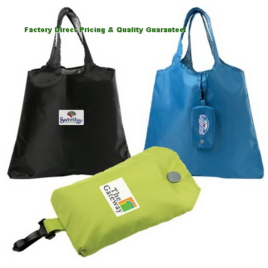 China Custom Eco Foldable Polyester Tote Bag