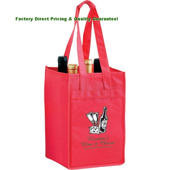 China Eco Reusable Bottle Bags