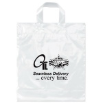 China Custom Soft Loop Handle Plastic Bags