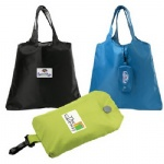 China Custom Promotional Foldable Tote Bag Made Of 210 Denier Polyester