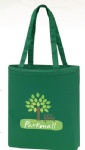 China Custom Green Promotional Color Canvas Tote