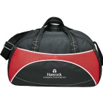 China Custom Printed Sport Duffel Bag