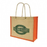 Factory Direct Boutique Jute Tote Bag