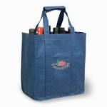China Custom Eco Wine Tote Bags