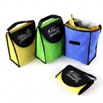 Factory Direct Non-woven Insulated Lunch Bag With Velcro Closure
