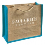 China Custom Jute Carry Bags