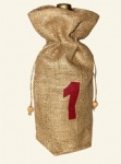 China Custom Jute Wine Pouch