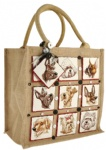 China Direct Promotional Budget Jute Bags