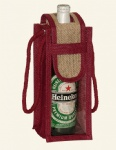 Promotional Eco Jute Wine Bags